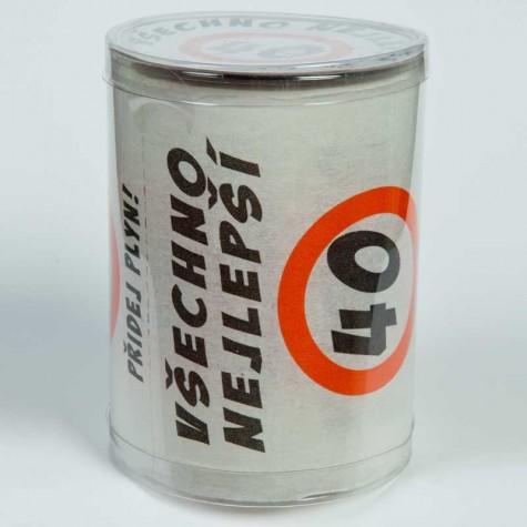 Toaletní papír - 40 Všechno nejlepší