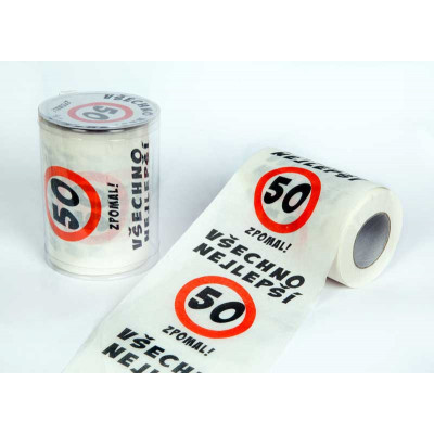 Toaletní papír - 50 Všechno nejlepší