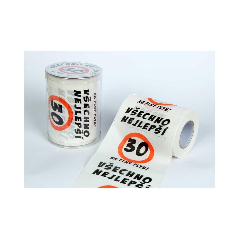 Toaletní papír - 30 Všechno nejlepší