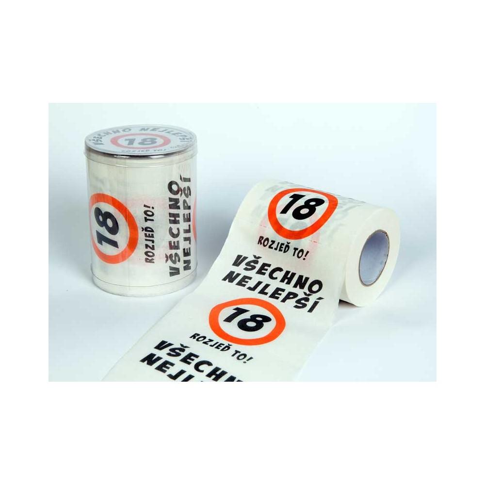 Toaletní papír - 18 Všechno nejlepší