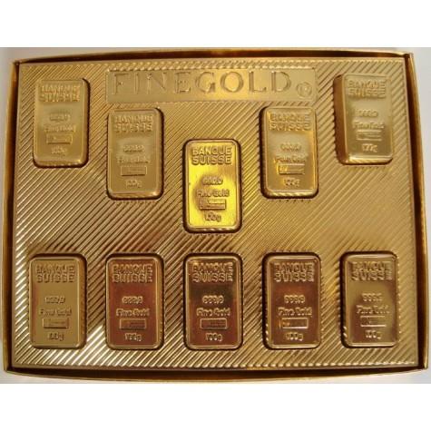 Čokoládové Zlaté cihličky