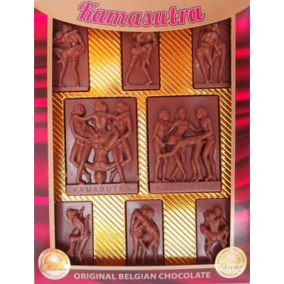 Čokoládová Kamasutra - mléčná