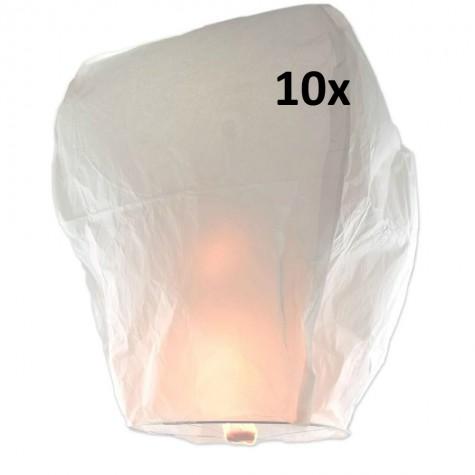 Lampión štěstí 10 ks - čepice