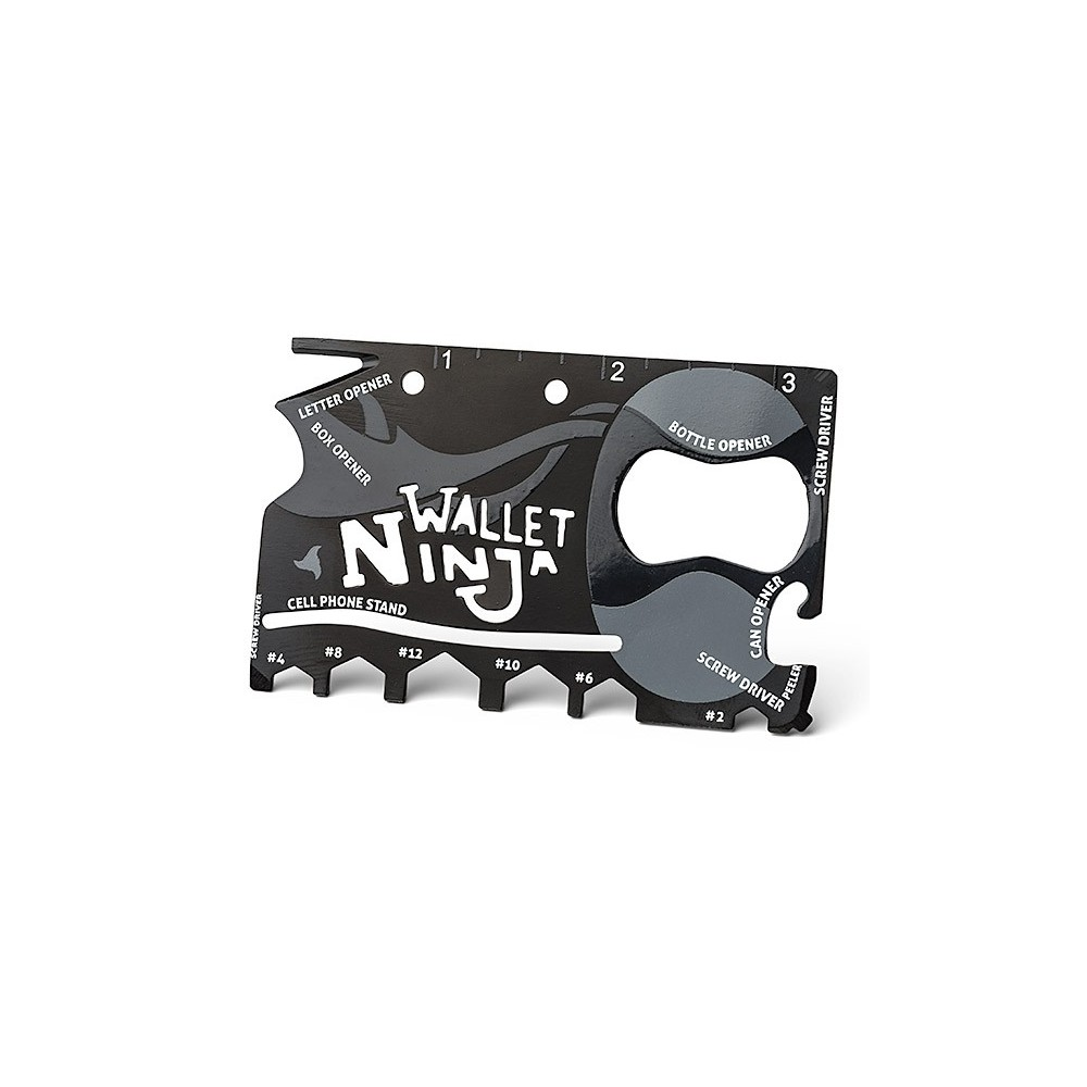 Multifunkční karta Wallet Ninja 18v1