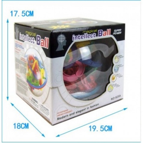 Hlavolam Intellect Ball - 138 překážek