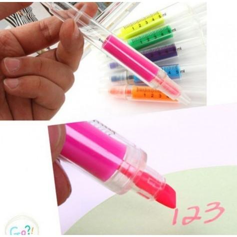 Injekční zvýrazňovač - růžový