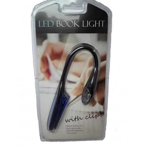 LED lampička na knížku