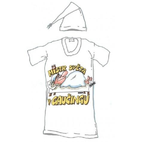Noční košile - Mistr světa v gaučingu