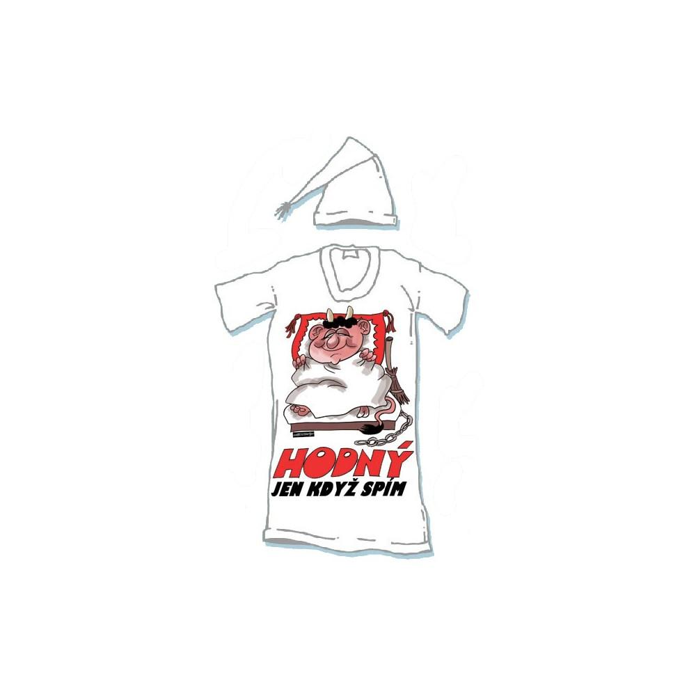 Noční košile - Hodný jen když spím - XXXL