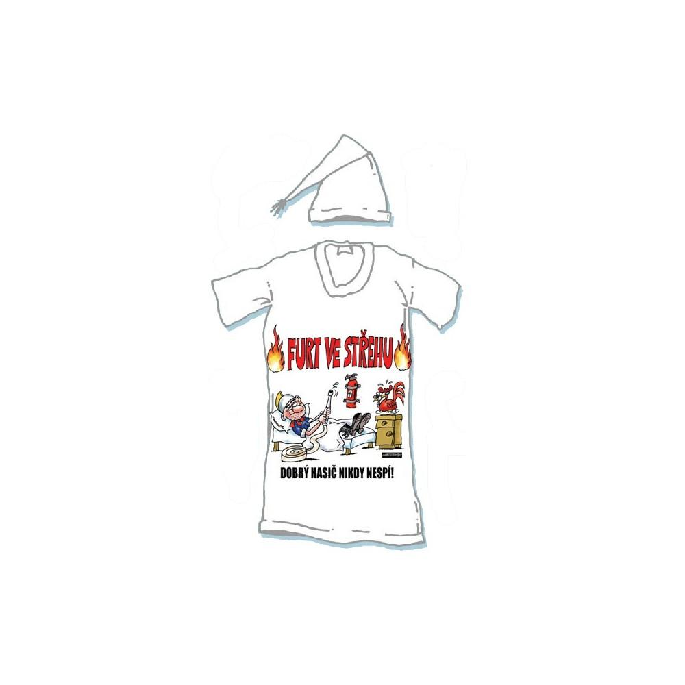 Noční košile - Furt ve střehu - XXXL