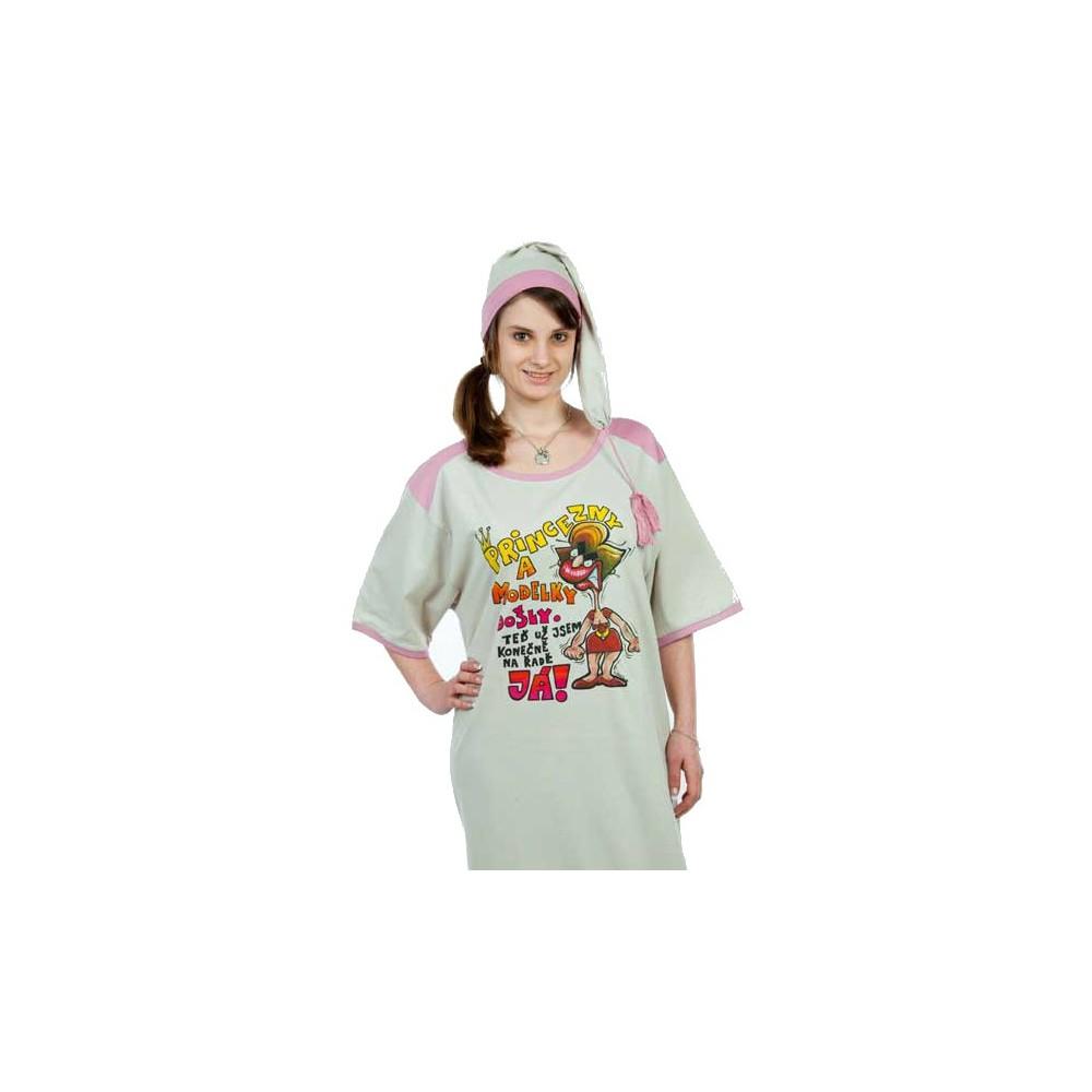 Noční košile - Princezny a modelky