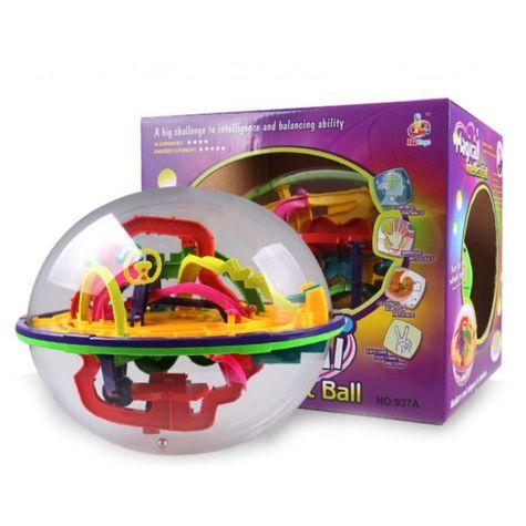 Hlavolam Intellect Ball - 208 překážek