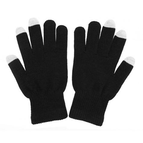 Dotykové rukavice pro smartphony - černé