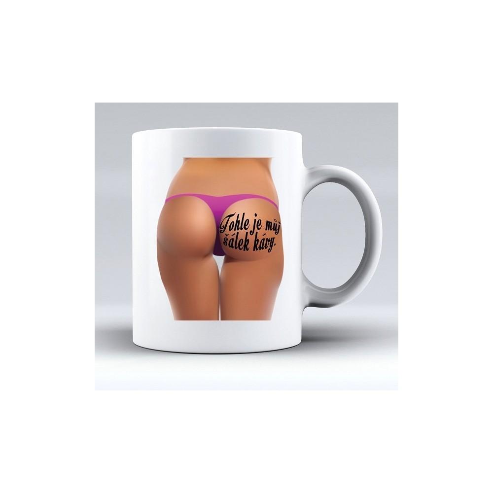 Hrnek -Můj šálek kávy - žena
