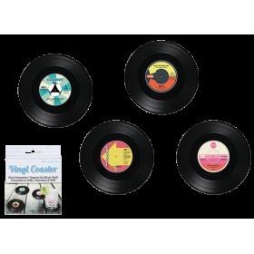 Podtácek vinylová deska