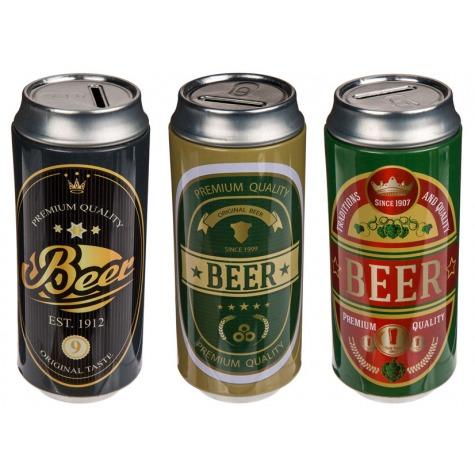 Pokladnička - plechovka piva