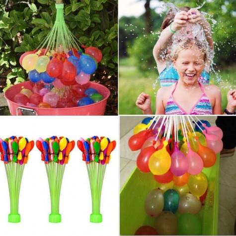 Balónkové vodní bomby 111 ks + nástavec