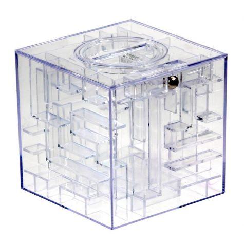 Pokladnička labyrint na peníze - Money maze