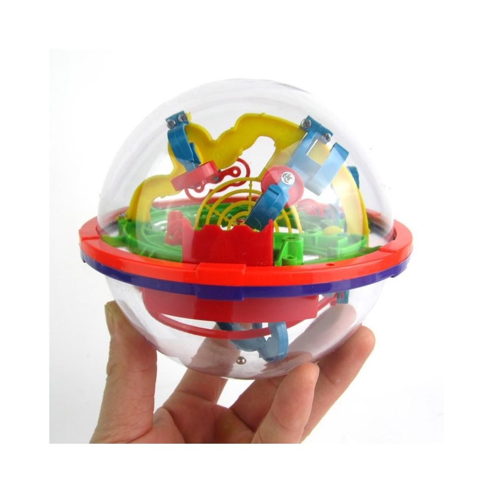 Hlavolam Intellect Ball mini - 100 překážek