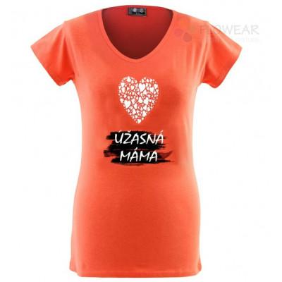 Tričko dámské - Úžásná máma