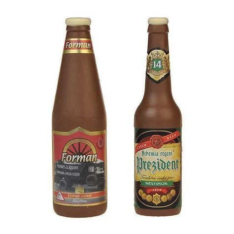 Čokoládová Pivní láhev - mléčná