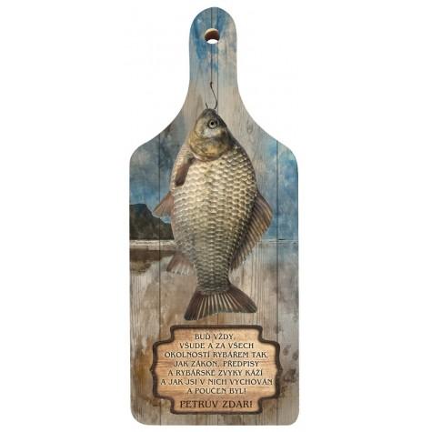 Dekorační prkénko - Pro rybáře