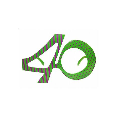 Narozeninové brýle - 40