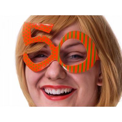 Narozeninové brýle - 50