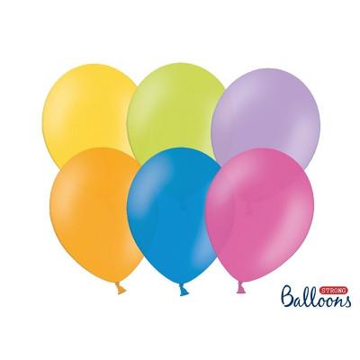 Nafukovací balónky - barevné - 50 ks