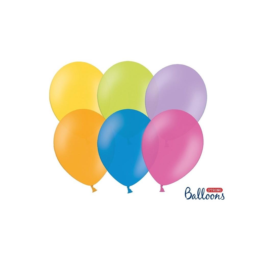 Nafukovací balónky 27 cm - barevné - 50 ks