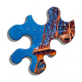 Neobvyklý tvar, druh puzzle