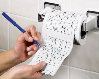 sudoku toaleták
