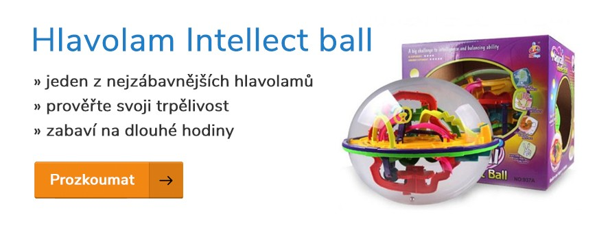 Hlavolam Intellect ball