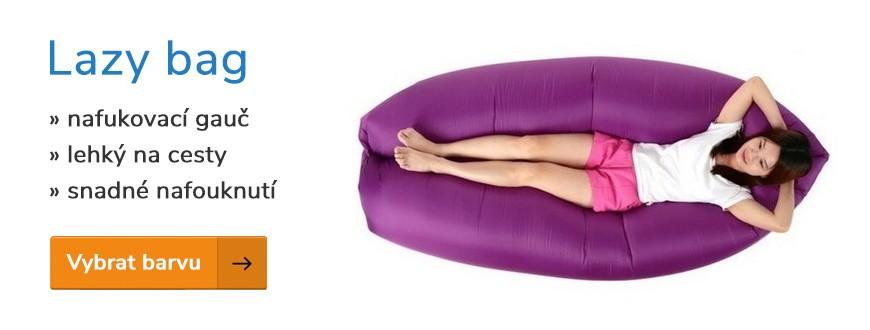 Lazy bag nafukovací gauč